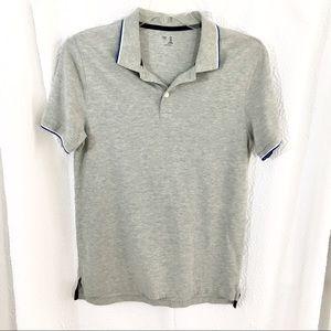 Mens Grey gap polo shirt